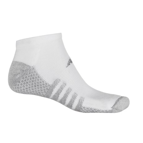 New Balance CoolMax® No-Show Socks - 2-Pack, Below the Ankle (For Men)