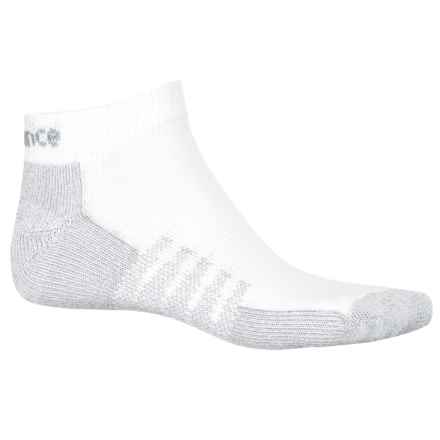 New Balance CoolMax® Socks - 2-Pack, Below the Ankle (For Women) in White - 2nds