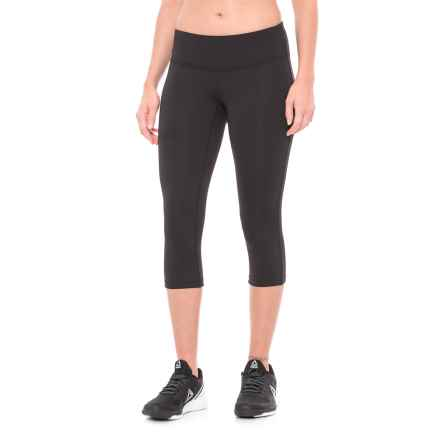 New Balance Core Capris (For Women) in 001 Bk Black - Closeouts