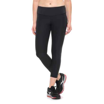New Balance Core Cropped Leggings (For Women) in Black - Closeouts