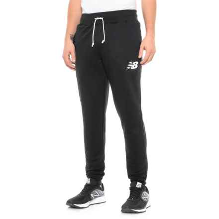 New Balance Core Pants - Slim (For Men) in Black - Closeouts