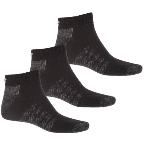 New Balance Core-Performance Socks - 3-Pack, Below the Ankle (For Men) in Black