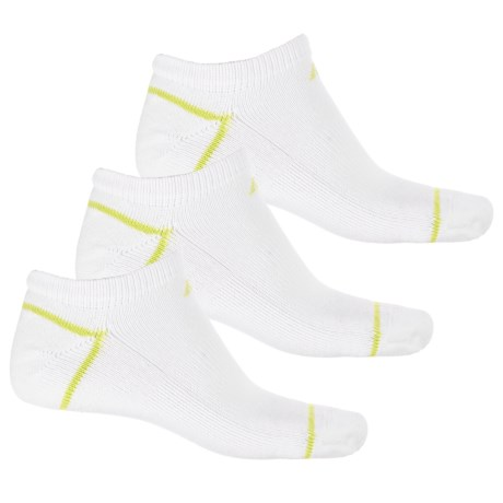 New Balance Core-Performance Socks - 3-Pack, Below the Ankle (For Men) in White/Multi