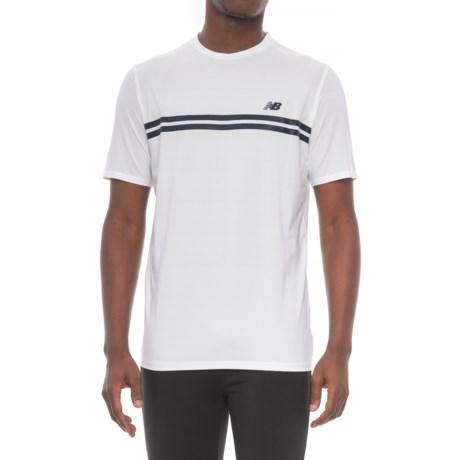 New Balance Court Shirt - Short Sleeve (For Men) in White