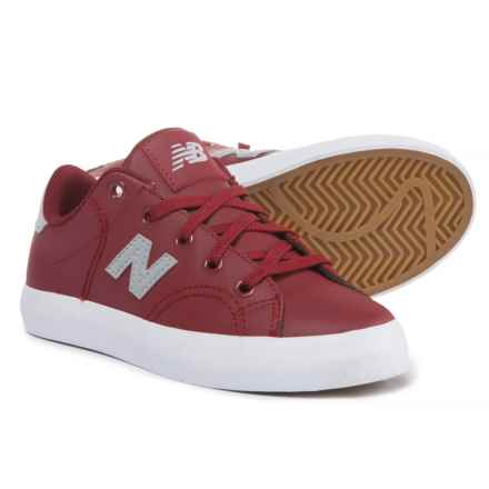 New Balance Court Sneakers (For Boys) in Burgundy - Closeouts