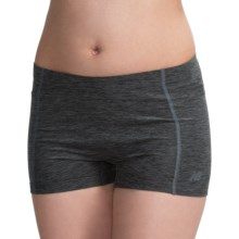 "New Balance Crush Shorts - 3"" (For Women) in Black/Grey - Closeouts"