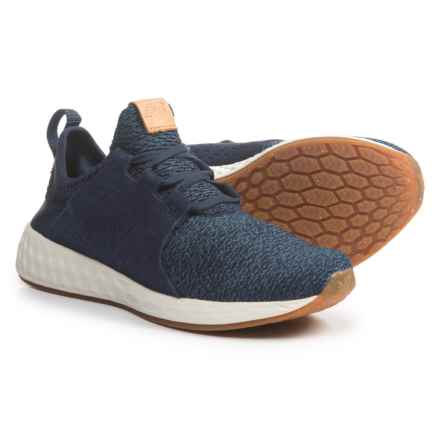 New Balance Cruz Cross-Training Shoes - Slip-Ons with Laces (For Women) in Vintage Indigo/Sea Salt/Gum - Closeouts