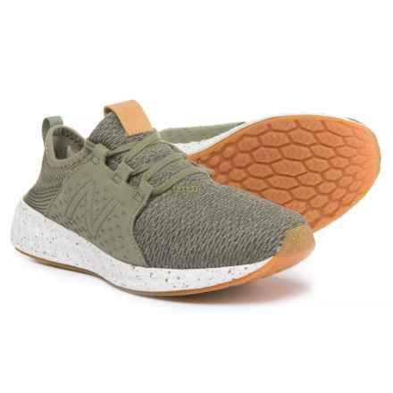 New Balance Cruz Sneakers - Slip-Ons (For Boys) in Green - Closeouts