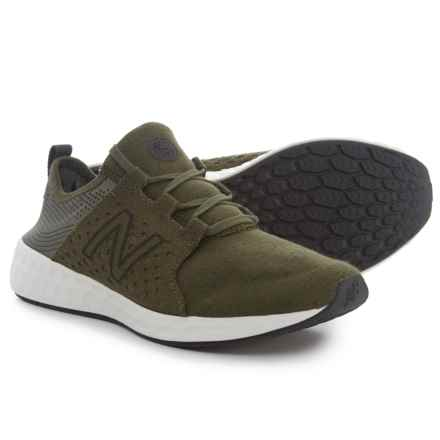 New Balance Cruz Sport Hoodie Pack Running Shoes (For Boys) in Olive/Phantom - Closeouts