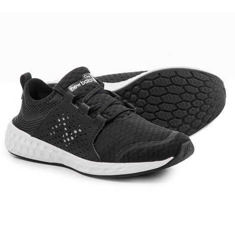 New Balance Cruz Sport Sneakers (For Boys) in Black/White