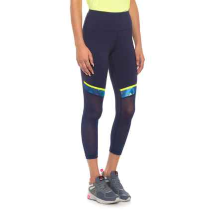 New Balance Determination Crop Leggings (For Women) in Navy - Closeouts