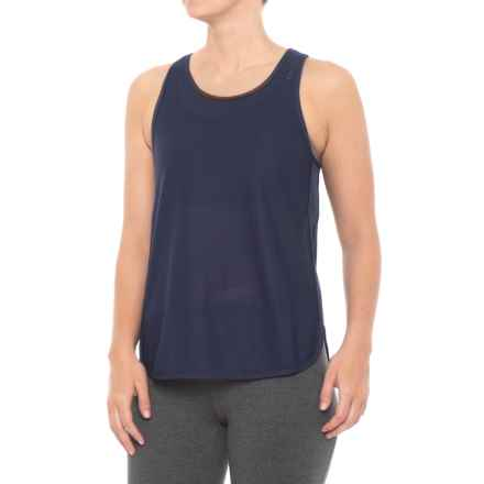 New Balance Determination Mesh Tank Top (For Women) in Pigment - Closeouts