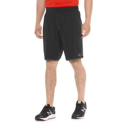 "New Balance Dominate Durashort Running Shorts - 9"" (For Men) in Black - Closeouts"