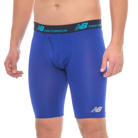 New Balance Dry and Fresh Boxer Briefs - Functional Fly (For Men) in Uv Blue