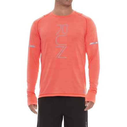 New Balance easonless Shirt - UPF 40+, Long Sleeve (For Men) in Dynamite Heather - Closeouts