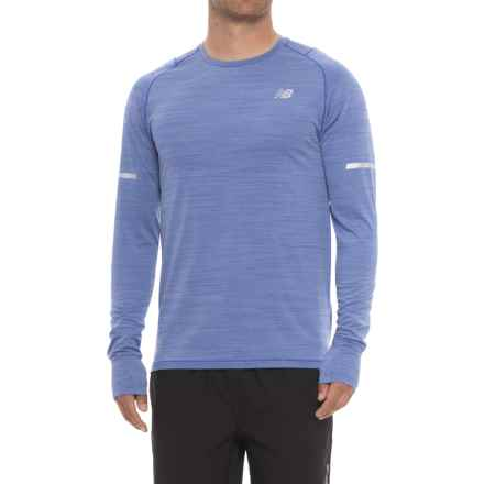 New Balance easonless Shirt - UPF 40+, Long Sleeve (For Men) in Pacific Heather - Closeouts