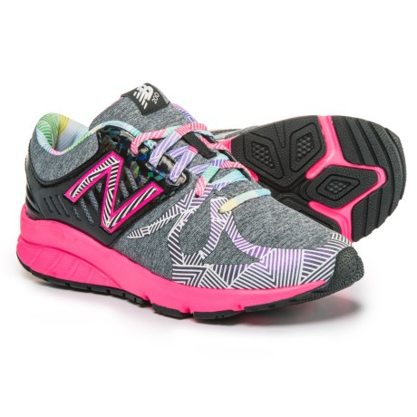 New Balance Electric Rainbow 200 Running Shoes (For Girls) in Black