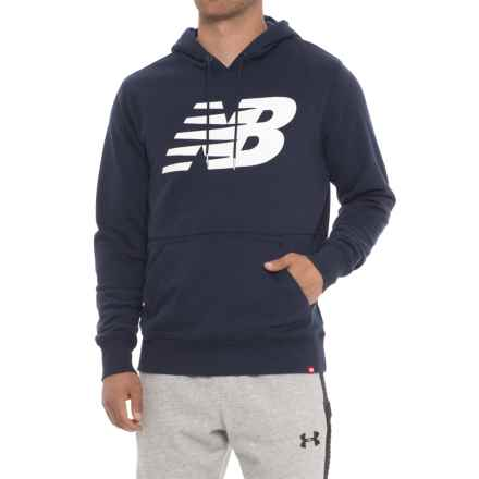New Balance Essentials FT Hoodie (For Men) in Pigment - Closeouts