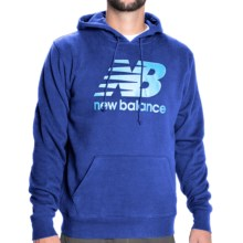 New Balance Essentials Hoodie (For Men) in Ocean Blue - Closeouts