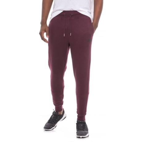 New Balance Essentials Joggers (For Men) in Chocolate Cherry