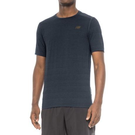 New Balance Fantom Shirt - Short Sleeve (For Men) in Black