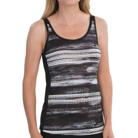 New Balance Fashion Print Tank Top (For Women) in Black Print - Closeouts