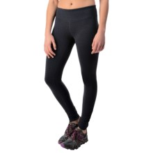 New Balance Fitted Print Tights - Reversible (For Women) in Outer Space Print - Closeouts