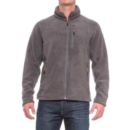 New Balance Fleece Jacket - Full Zip (For Men) in Medium Grey/Medium Grey - Closeouts