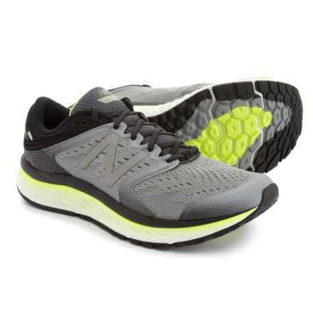 New Balance Fresh Foam 1080 Running Shoes (For Men) in Silver/Yellow - Closeouts