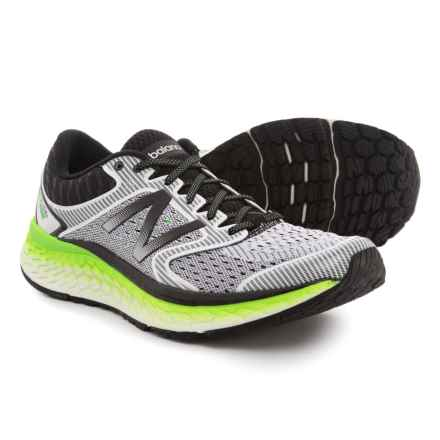 New Balance Fresh Foam® 1080 v7 Running Shoes (For Men) in White/Energy Lime - Closeouts