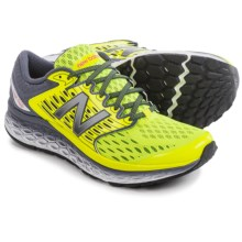 New Balance Fresh Foam 1080v6 Running Shoes (For Men) in Grey/Yellow - Closeouts
