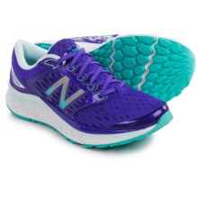 New Balance Fresh Foam 1080V6 Running Shoes (For Women) in Blue/White - Closeouts