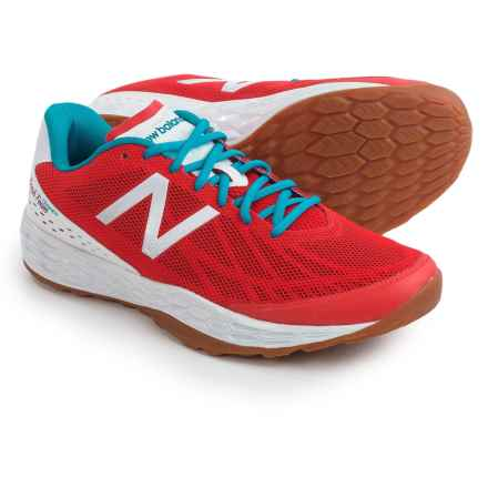New Balance Fresh Foam 80 Cross-Training Shoes (For Men) in Red/White - Closeouts