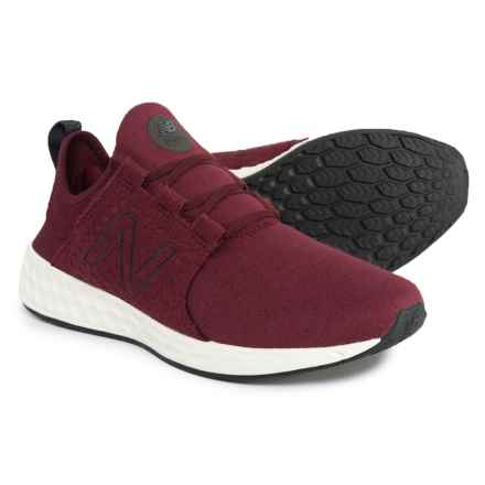 Fresh Foam® Cruz Retro Hoodie Cross-Training Shoes (For Men) in Oxblood - Closeouts