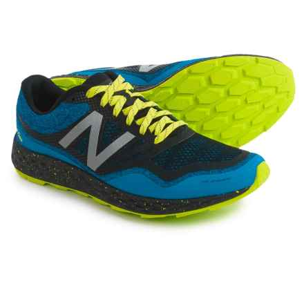 New Balance Fresh Foam Gobi Trail Running Shoes (For Men) in Electric Blue - Closeouts