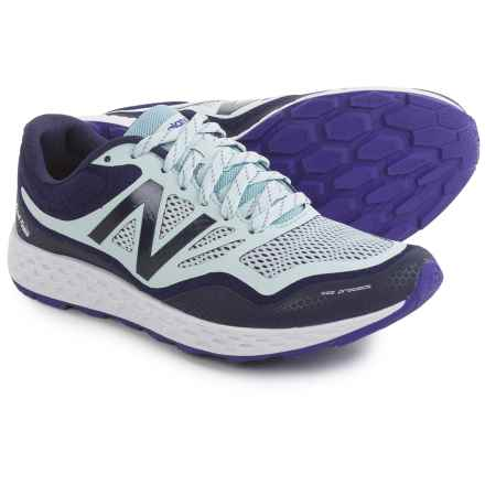 New Balance Fresh Foam Gobi Trail Running Shoes (For Women) in Navy/Light Blue - Closeouts