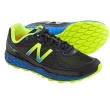 New Balance Fresh Foam Hierro Trail Running Shoes (For Men) in Black/Yellow - Closeouts