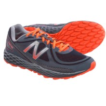 New Balance Fresh Foam Hierro Trail Running Shoes (For Men) in Grey/Orange - Closeouts