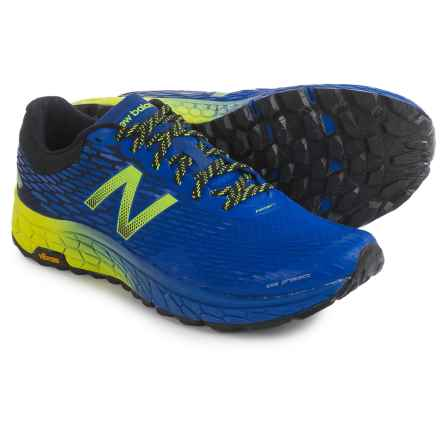 New Balance Fresh Foam Hierro V2 Trail Running Shoes (For Men) in Electric Blue/Uv Blue/Hi-Lite - Closeouts