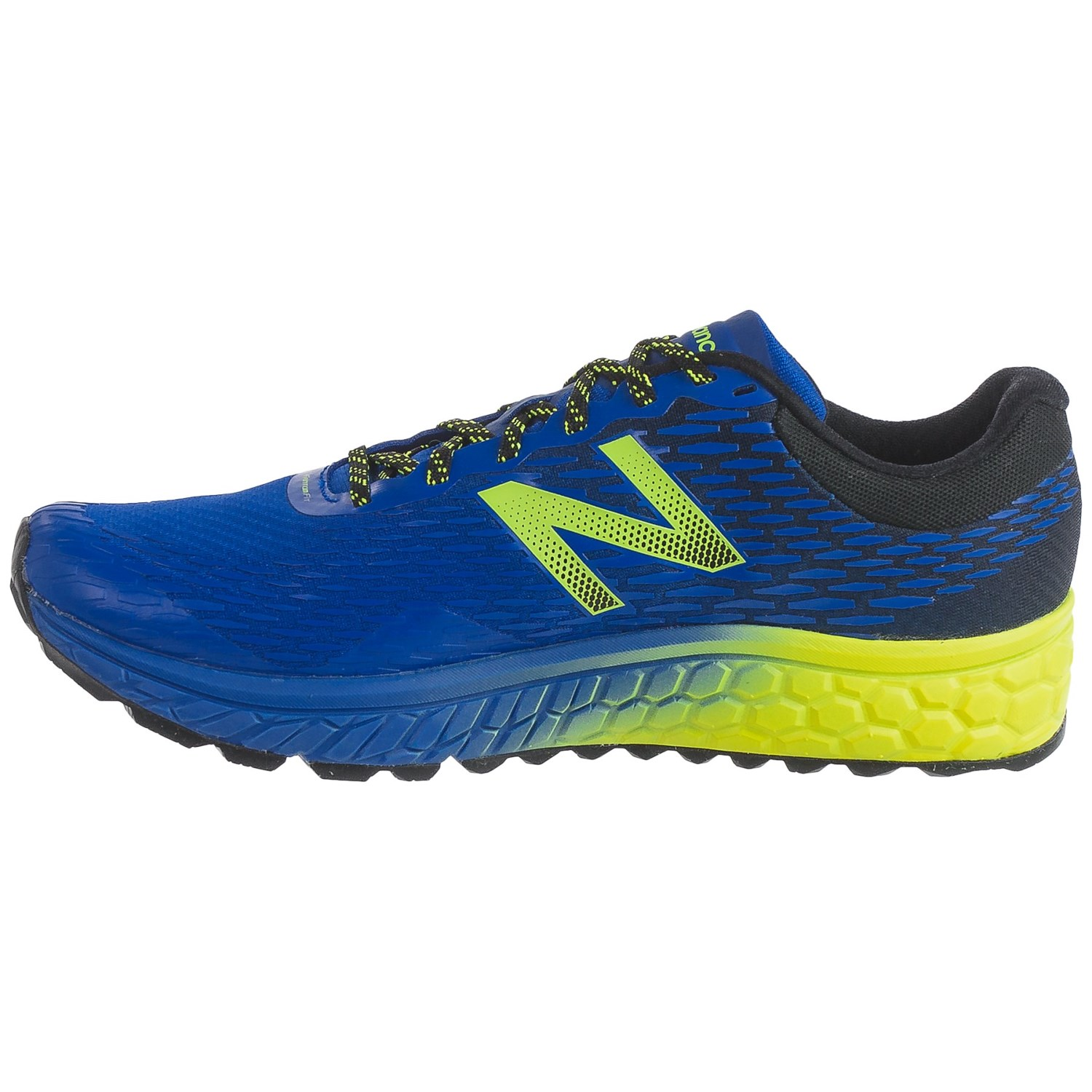 New Balance Fresh Foam  V Men S Shoes Blue Hi Lite