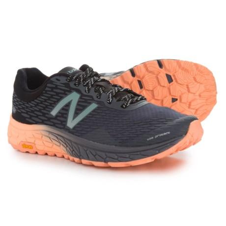 New Balance Fresh Foam Hierro V2 Trail Running Shoes (For Women) in Black/Pink