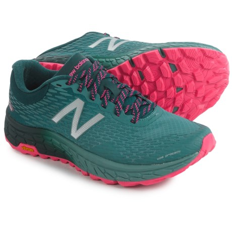 New Balance Fresh Foam Hierro V2 Trail Running Shoes (For Women) in Typhoon/Supercell/Alpha Pink