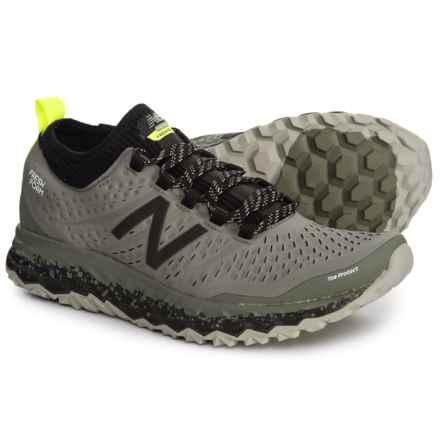 Fresh Foam® Hierro V3 Trail Running Shoes (For Men) in Military/Dark Triumph/Black - Closeouts