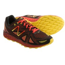 New Balance Fresh Foam MT980 Trail Running Shoes (For Men) in Red/Black - Closeouts
