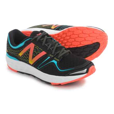 New Balance Fresh Foam Vongo Running Shoes (For Women) in Black/Bayside/Lava - Closeouts