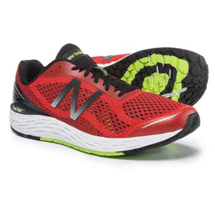 New Balance Fresh Foam® Vongo V2 Running Shoes (For Men) in Energy Red/Energy Lime - Closeouts