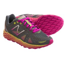 New Balance Fresh Foam WT980 Trail Running Shoes (For Women) in Gray/Pink - Closeouts