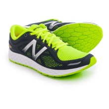 New Balance Fresh Foam Zante V2 Running Shoes (For Men) in Black/Green - Closeouts
