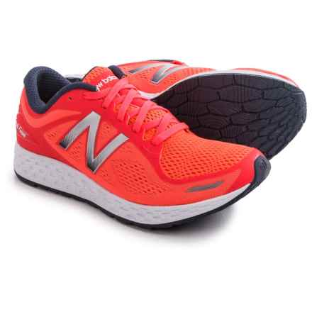 New Balance Fresh Foam Zante V2 Running Shoes (For Women) in Coral/Grey - Closeouts