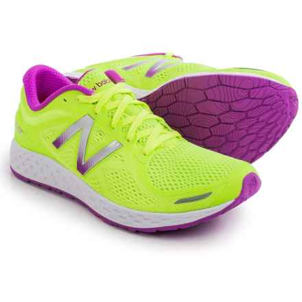 New Balance Fresh Foam Zante V2 Running Shoes (For Women) in Lime Green/Pink Zing - Closeouts